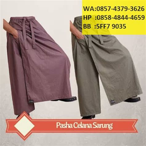 Agen Celana Sarung Wadimor produsen distributor agen grosir celana sarung praktis