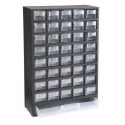 40 bin organizer with length drawer