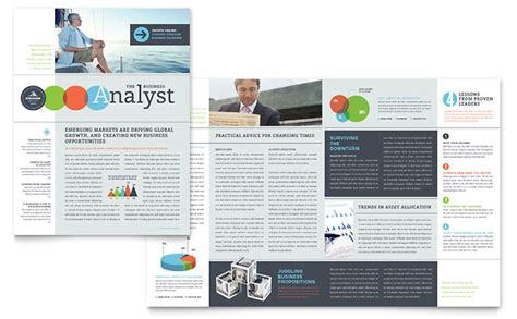 bulletin layout sles newsletter templates business newsletter designs