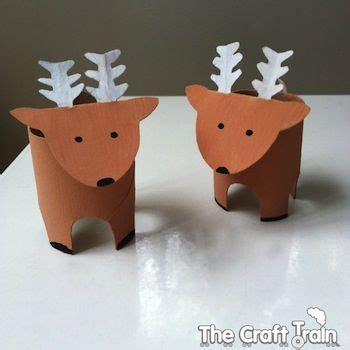Cool Things To Make Out Of Toilet Paper Rolls - 25 best ideas about reindeer craft on