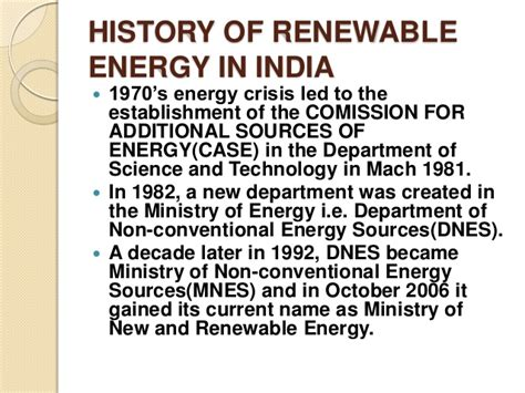 Mba In Renewable Energy Management In India by Renewable Energy Its Furure Prospects In India