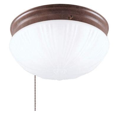 Home Depot Interior Light Fixtures Westinghouse 2 Light Ceiling Fixture Interior Flush Mount With Pull Chain And Frosted