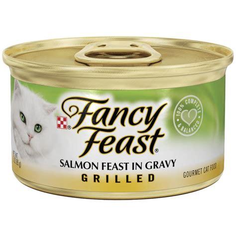 Fancy Feast Salmon 85gr purina fancy feast grilled salmon in gravy cat food 3 oz pack of 24 jet