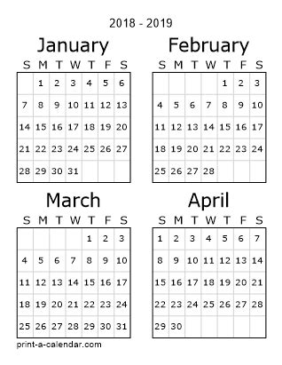 printable calendar 2018 three months per page download 2018 printable calendars