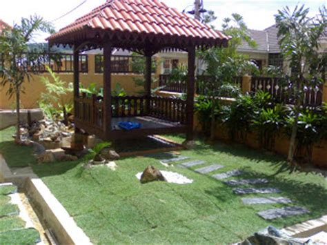 panduan landskap laman rumah menarik dekorasi halaman rumah landcape gazebo mudah dan praktikal dekorasi halaman rumah