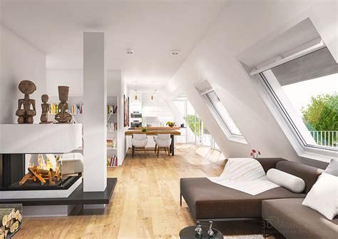 design agentur berlin 3d interior visualization top floor apartment city villa