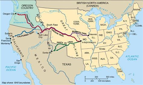 westward expansion map the gallery for gt westward expansion railroad map