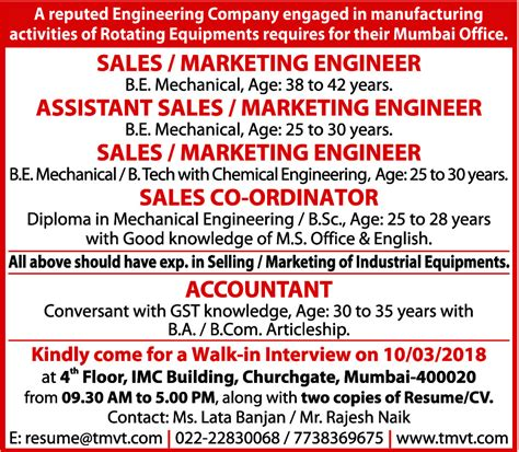design engineer vacancy in mumbai times ascent jobs in mumbai mumbai jobs jobs in india