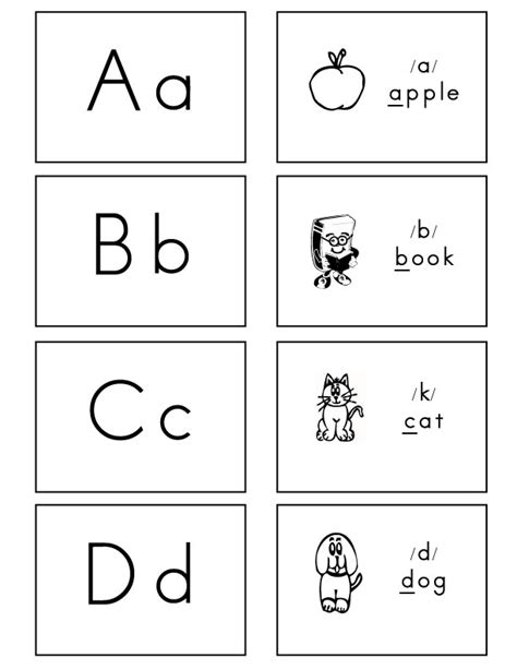 printable alphabet letters and sounds 4 best images of printable letter sound cards alphabet