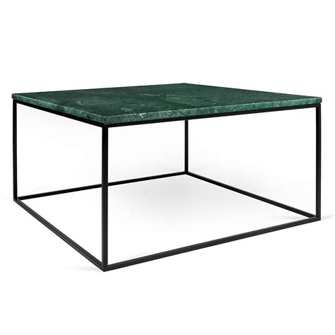 Metal Top Coffee Table Gleam Green Marble Black Coffee Table By Temahome Eurway