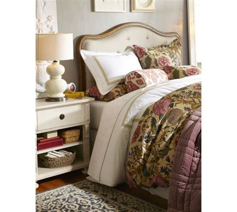 gabriella upholstered headboard gabriella upholstered headboard pottery barn