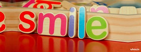 facebook cover  colorful smile