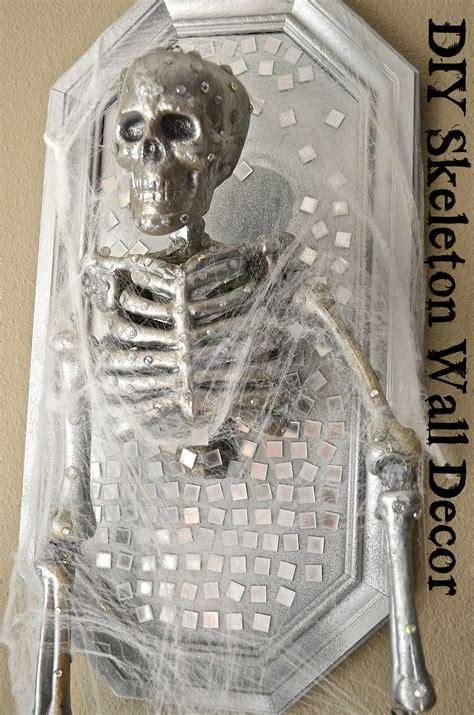 diy skeleton diy skeleton frame wall decor tutorial