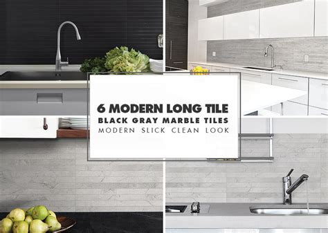 black kitchen backsplash ideas modern kitchen backsplash ideas black gray tiles
