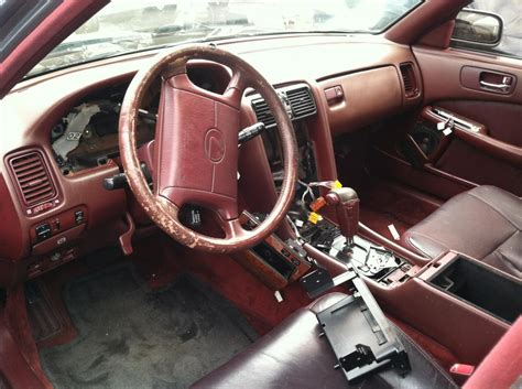 lexus ls400 interior junkyard find 90 ls 400 with rare color interior