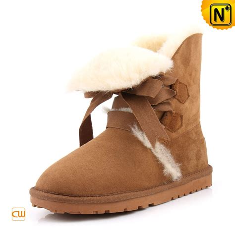 fur lined leather boots for cw314416