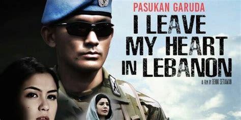 adipati dolken di film my heart i leave my heart in lebanon film tentang kiprah tni di