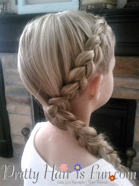 little girl hairstyles braided to the side little girl s hairstyles side dutch braid