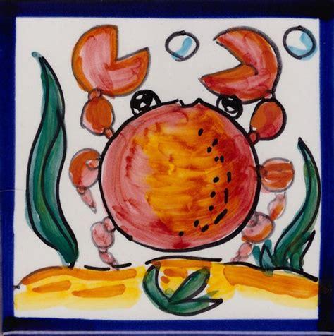 ceramica vietrese piastrelle mattonella vietrese in ceramica di vietri piastrella pesce