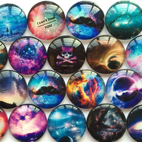life printed half round dome glass cabochons mixed color 14x5mm ebay zeroup 50pcs lot starry sky printed glass half round dome