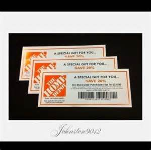 No fakes home depot 20 off coupon lowes menards discount 251377313132