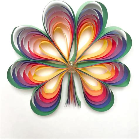 Paper For Craft Projects - rainbow shamrocks family crafts