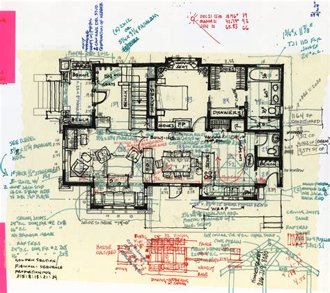 sketch plans craftsman remodel leed gold brandon d burmeister design