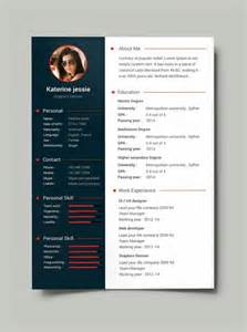 it professional resume sles free 25 best ideas about cv template on creative