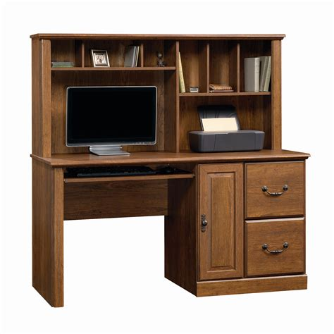 computer desk w hutch sauder orchard computer desk w hutch