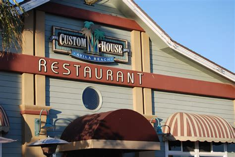 Custom House Avila Beach Menu Prices Restaurant Custom House In Avila