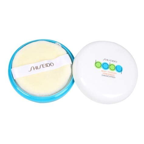 Shiseido Medicated Baby Powder shiseido baby powder pressed medicated 50g ราคา ถ ก