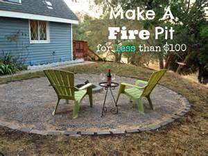 Cheap Diy Firepit Cheap Pit