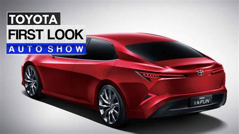 toyota camry 2019 toyota quot camry quot fun sedan concept first look youtube