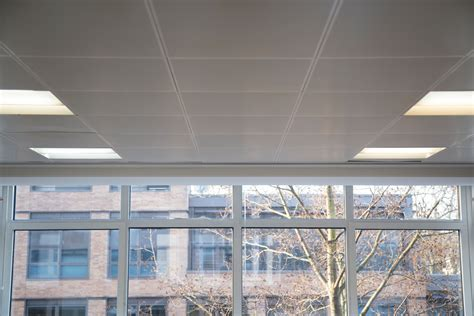 metal pan ceiling cleaning offices on wigmore
