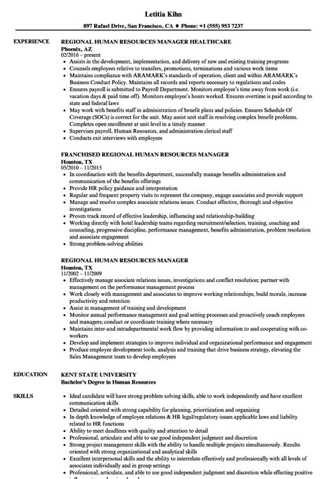 Sle Human Resources Manager Resume