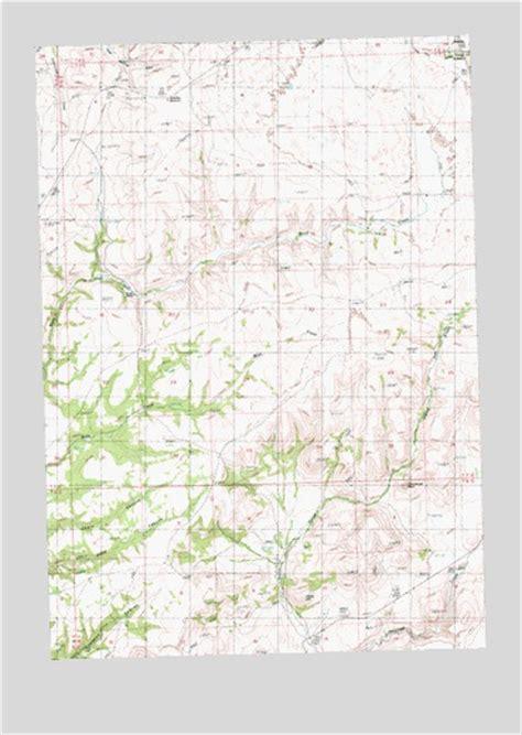 shaniko oregon map shaniko summit or topographic map topoquest