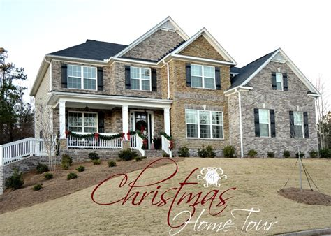 house for house 2015 christmas home tour kelley nan