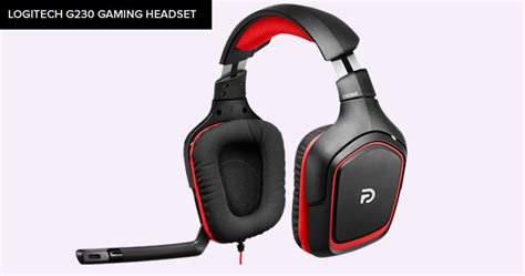 G230 Stereo Gaming Headset 5 best gaming headset 100 crisp quality sound