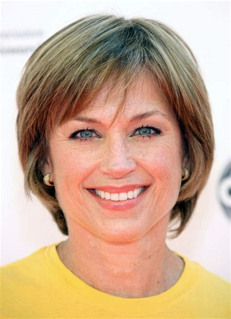 short hairstyles for the over50s short hair styles for over 50s