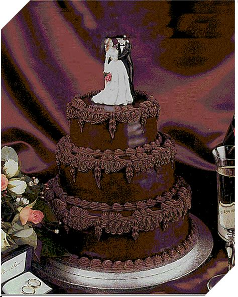 Chocolate Wedding Cake Ideas by Unique Wedding Ideas And Collections Marriage Planning
