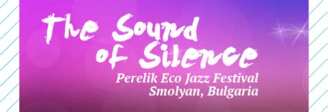 a sound in the silence an eco critical anthology books perelik eco jazz festival quot the sound of silence quot europe