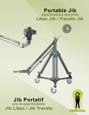 Jimmy Jib Crane Jib Porta Jib Ukuran 3 Meter Semut Diy vehicle rigging