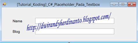 membuat textbox html membuat placeholder pada textbox dengan vb net dan c
