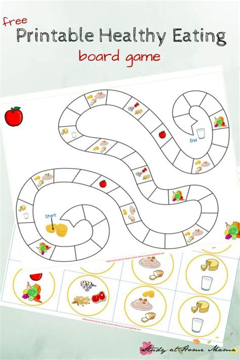 printable games for preschoolers kids kitchen healthy eating game printable sugar spice