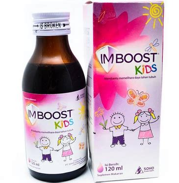H Booster Syrup 60 Ml Daya Tahan Tubuh harga dosis dan manfaat imboost syrup 69 ml dan 120