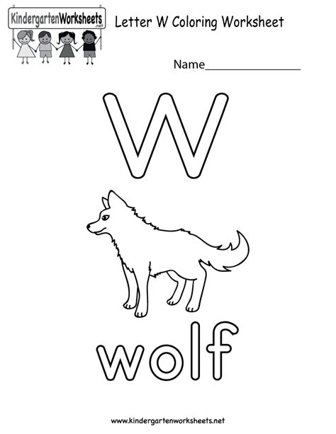 letter w coloring pages preschool free printable letter w coloring worksheet for kindergarten
