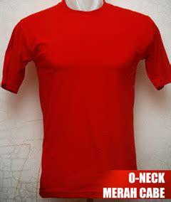 Kaos Polos O Neck Warna Merah Cabe Ukuran Xl Cotton Combed 20s kaos polos o neck pendek 171 kaos polos kece murah