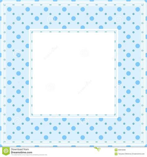 dot pattern border blue polka dots border stock vector image 60818406