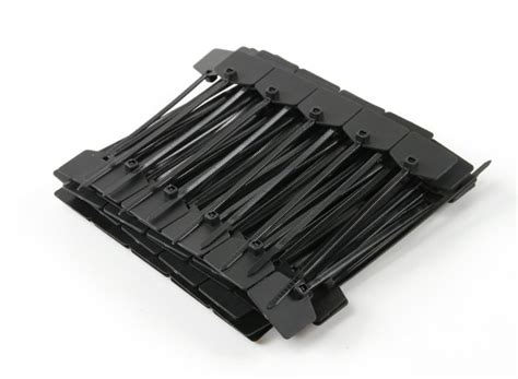 Marker Ties 150 Mm X 3 6 Mm cable ties 120mm x 3mm black with marker tag 100pcs