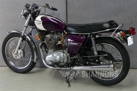 triumph trident t150 motorcycles for sale sold triumph t150 trident 750cc motorcycle auctions lot